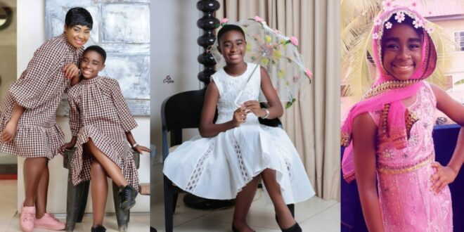 Beautiful photos of Afia Amankwaah Tamakloe's daughter drops as she celebrates her birthday 1