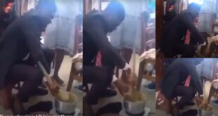 UCC student, Mr. Romantic prepares Konkonte for her girlfriend in her hostel - Video 13