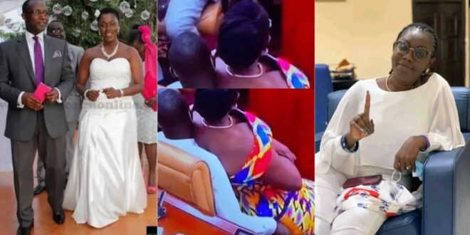 Throwback pictures of Madam Ursula Owusu when she was getting married (photos) 1
