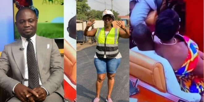 Ursula Owusu in trouble after Hon Akandoh's wife threatens to sue her for sexual harassment. 1