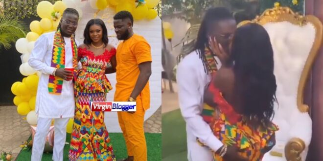 the first video of wisa Gierd wedding surfaces online. (video) 1