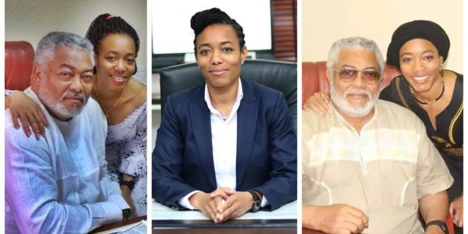 zanetor Rawlings reveals activities for the final funeral rights of her father 1