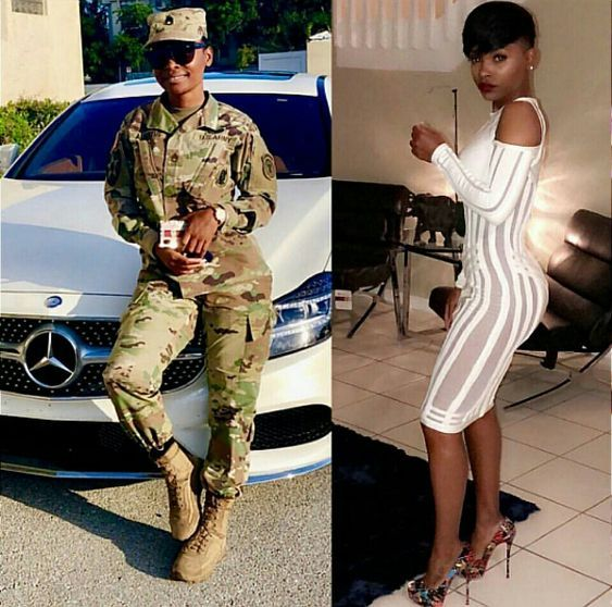 pictures of Beautiful Ghanaian Nurses, Police, and Military women. 19