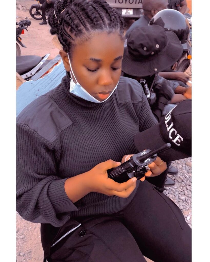 pictures of Beautiful Ghanaian Nurses, Police, and Military women. 14