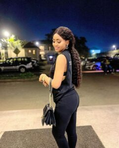 Regina Daniels shows her new slim body after birth in new photos 4