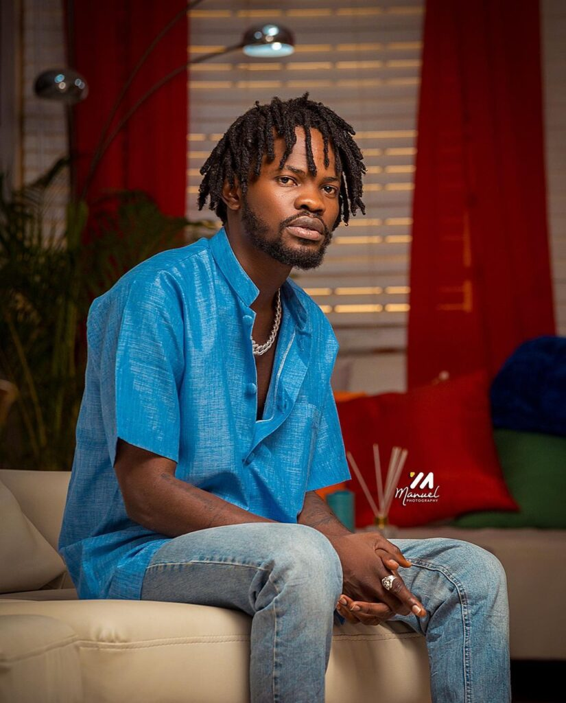 I couldn't look at Sarkodie's face when I first met him - Fameye 2