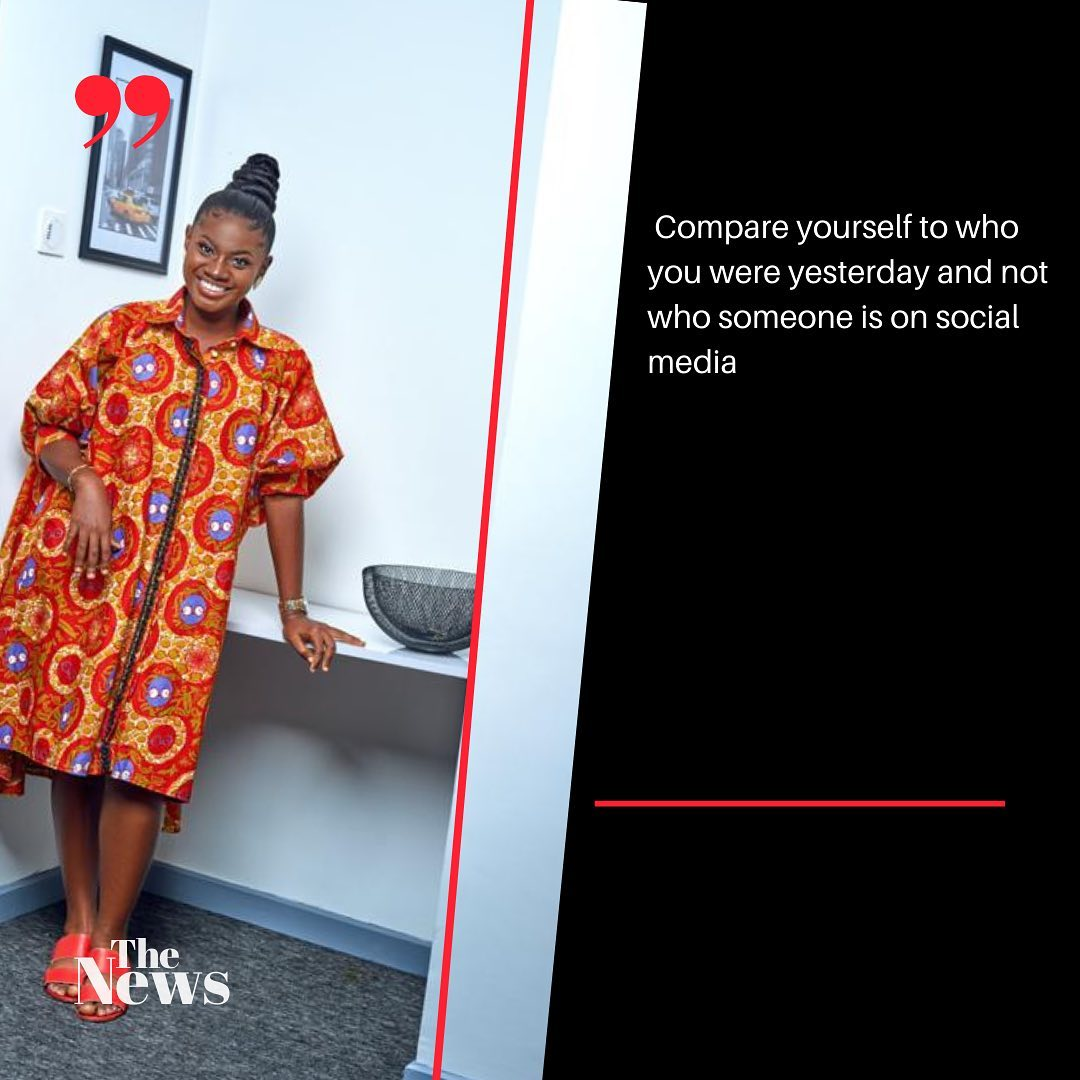 Don't compare yourself to people living fake lives on social media – Martha Ankomah advises 2