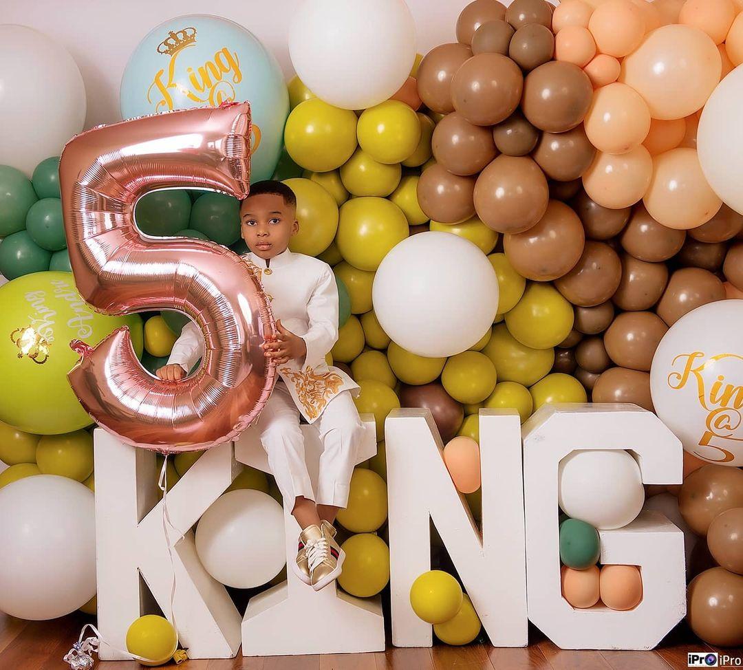 Tonto Dikeh's son breaks the internet with stunning birthday photos 2