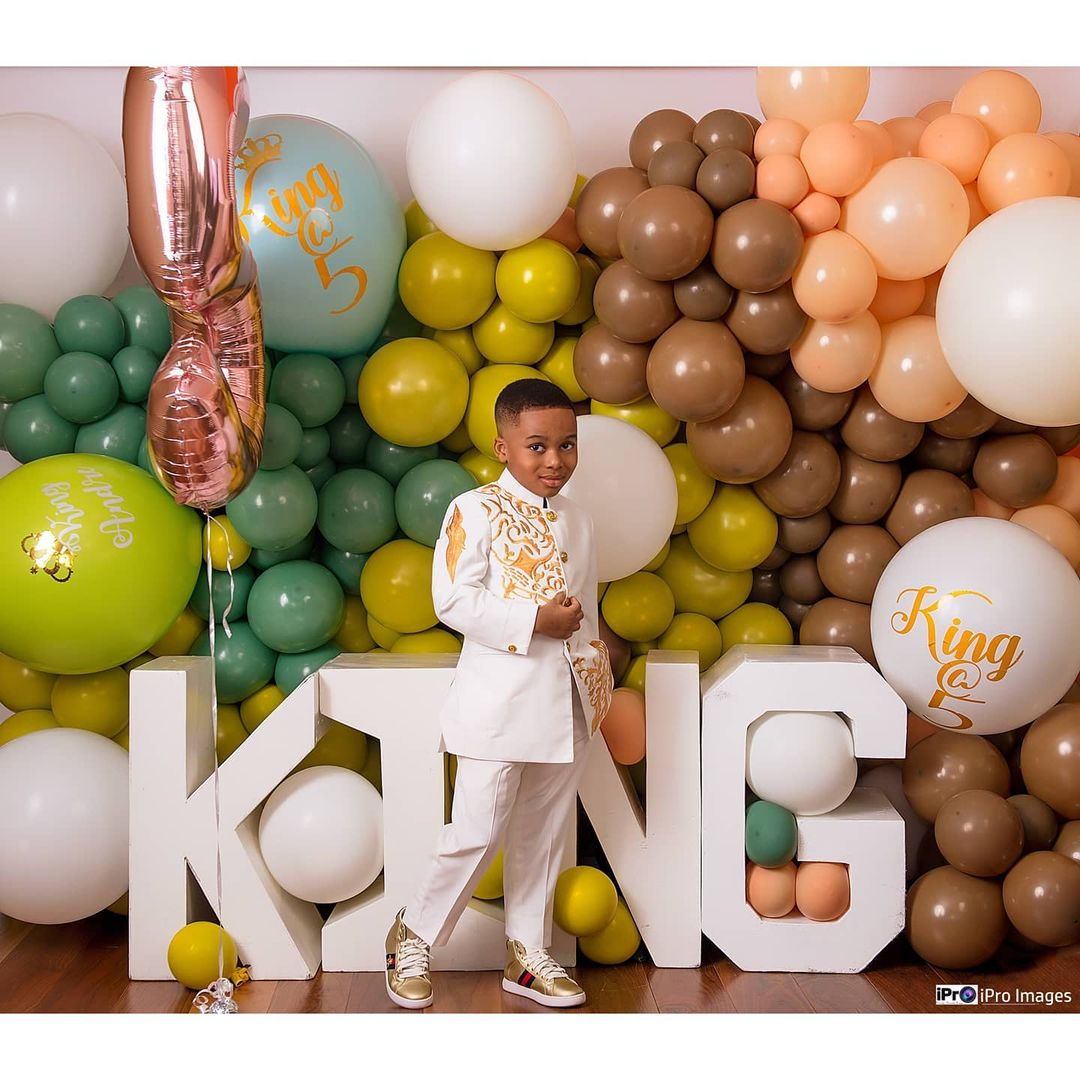 Tonto Dikeh's son breaks the internet with stunning birthday photos 4