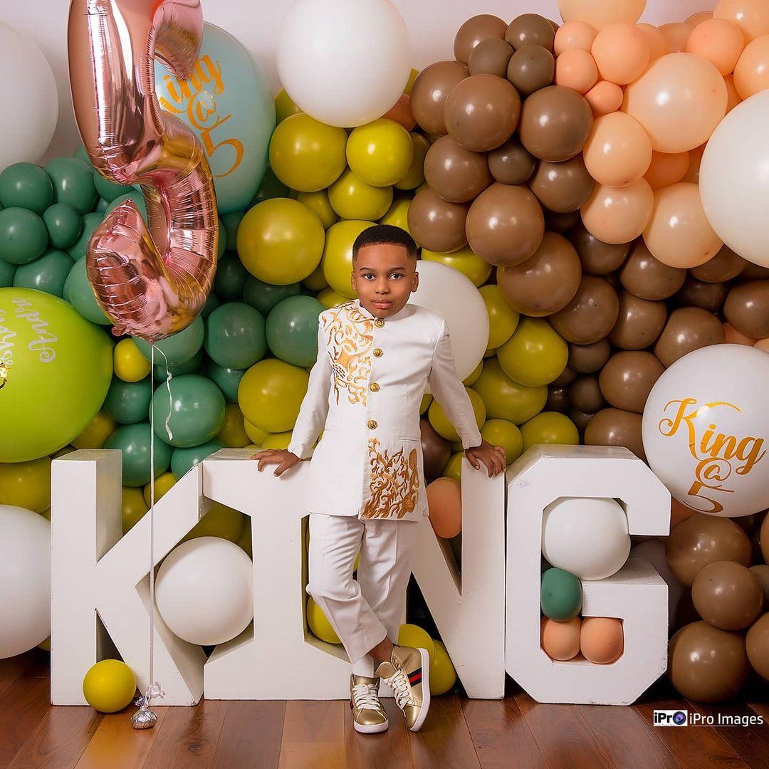 Tonto Dikeh's son breaks the internet with stunning birthday photos 5