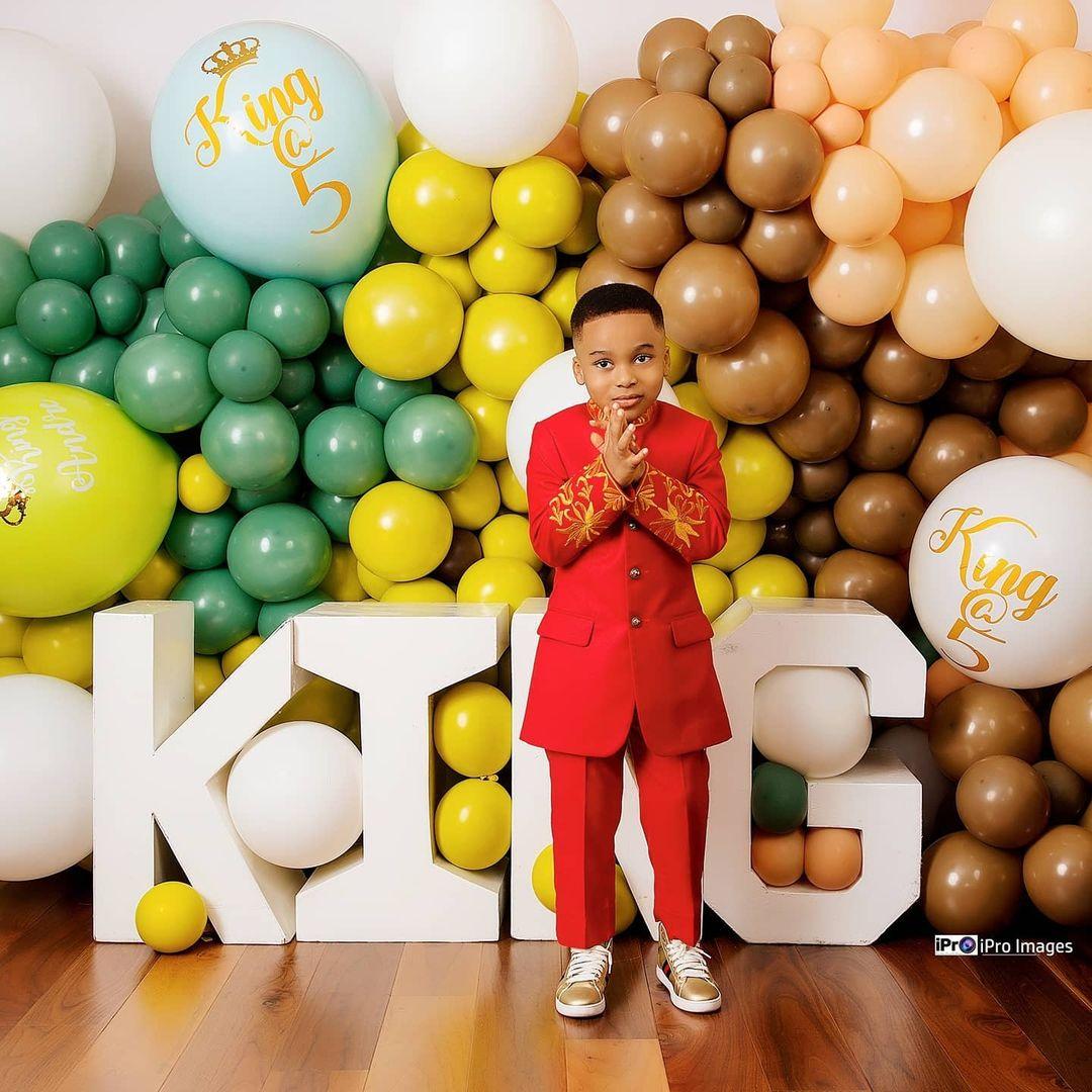 Tonto Dikeh's son breaks the internet with stunning birthday photos 9