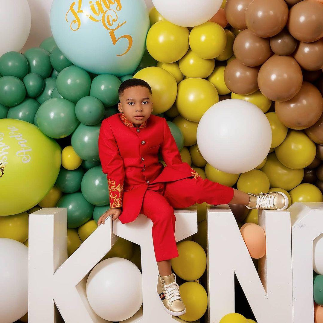Tonto Dikeh's son breaks the internet with stunning birthday photos 8
