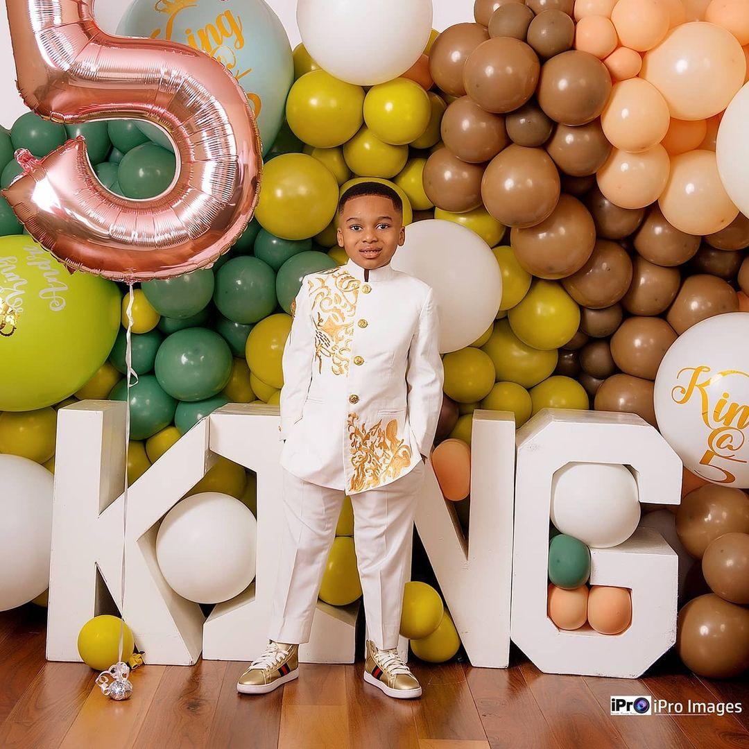 Tonto Dikeh's son breaks the internet with stunning birthday photos 3