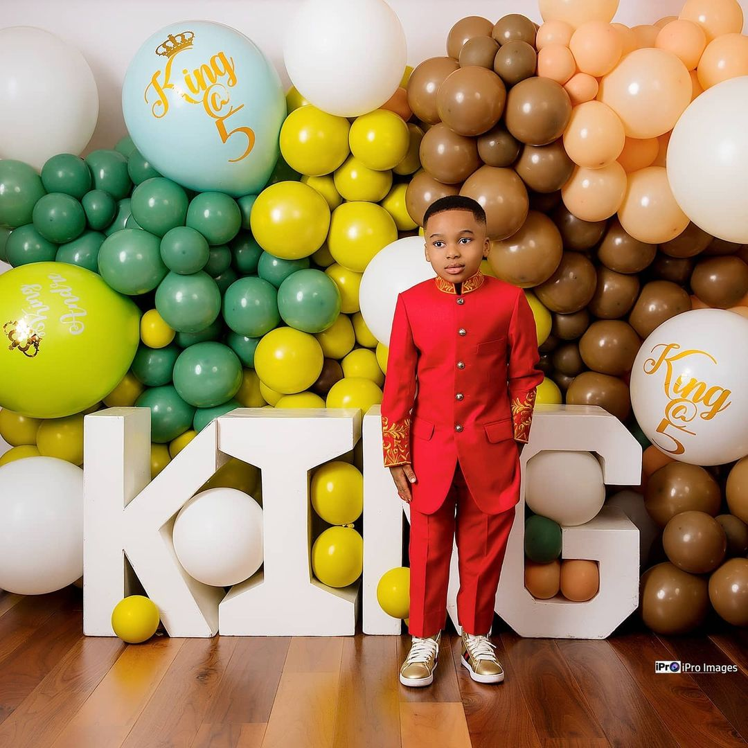 Tonto Dikeh's son breaks the internet with stunning birthday photos 7