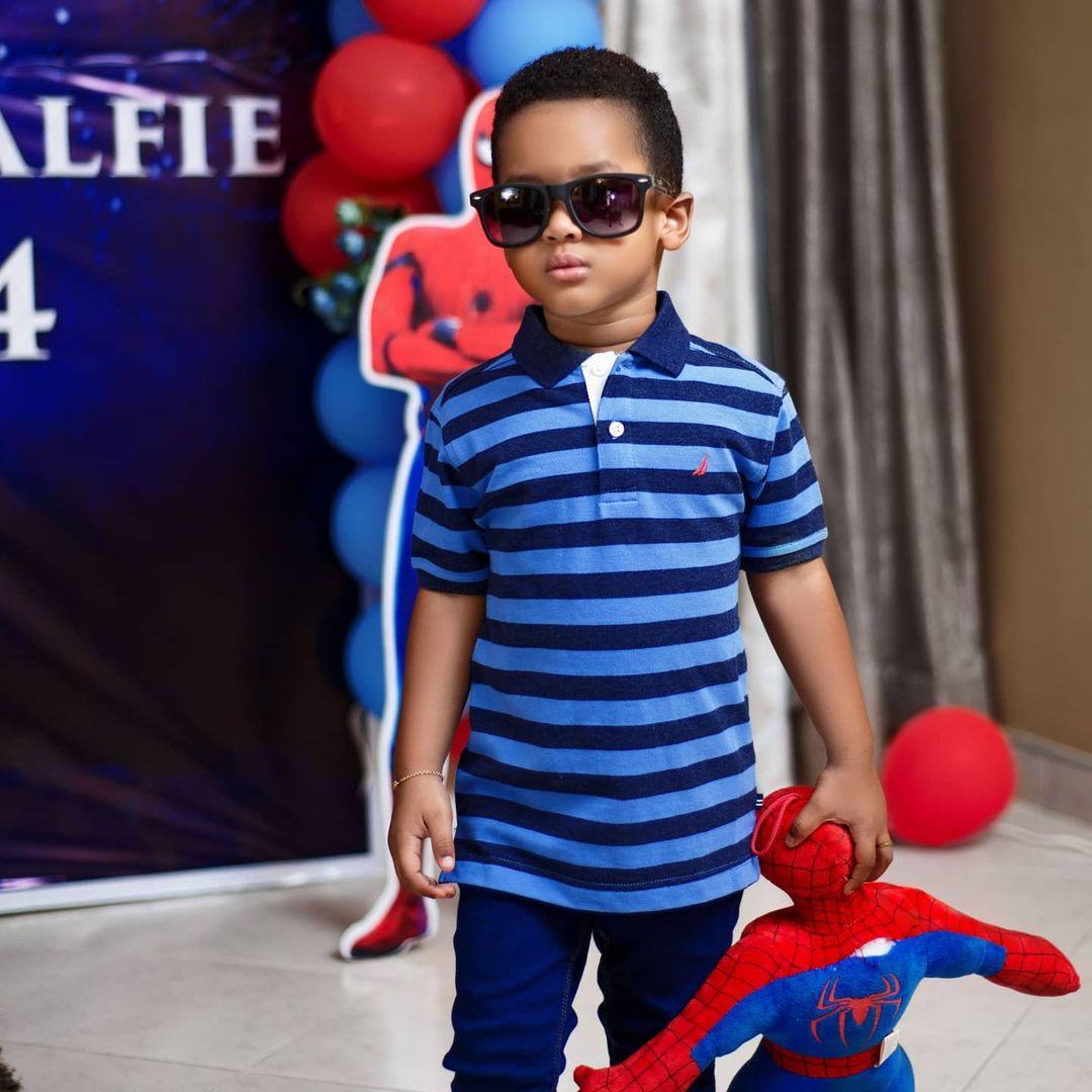 Vivian Jill shares adorable photos of her cute son as he celebrates 4th birthday 8