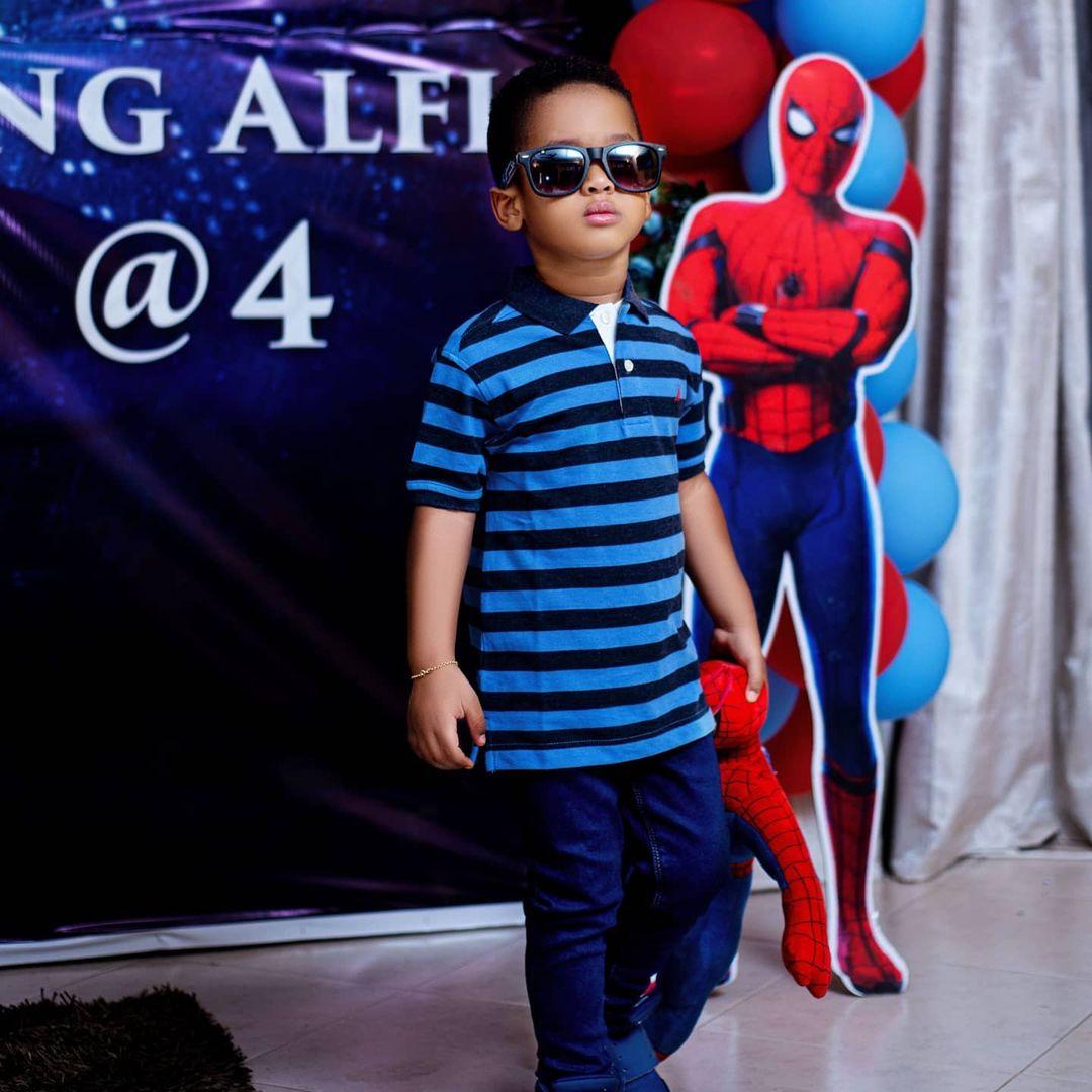 Vivian Jill shares adorable photos of her cute son as he celebrates 4th birthday 9