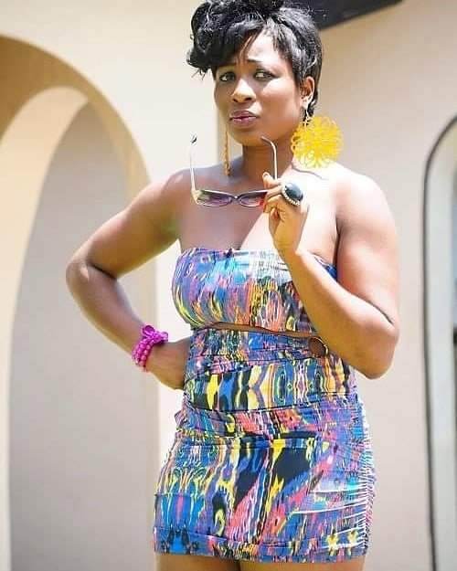 Nyame Aye Bi - See this throwback photo of Gloria Sarfo 8-years ago