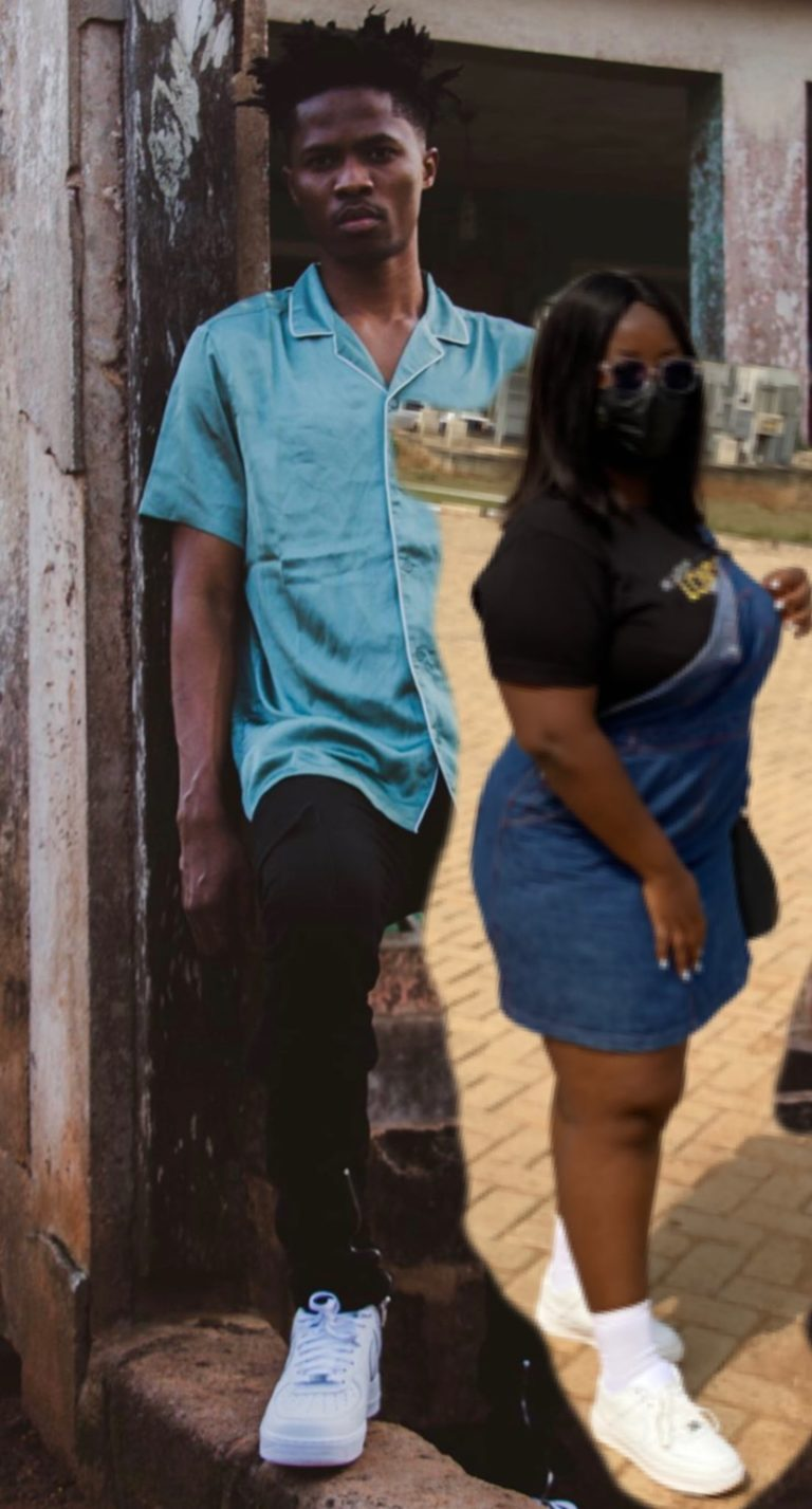 """Lady Obsessed with Kwesi Arthur Photoshops her images to his and captioned it """"LOML""""- (photos) 2"""