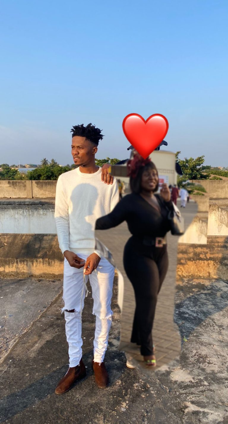 """Lady Obsessed with Kwesi Arthur Photoshops her images to his and captioned it """"LOML""""- (photos) 3"""