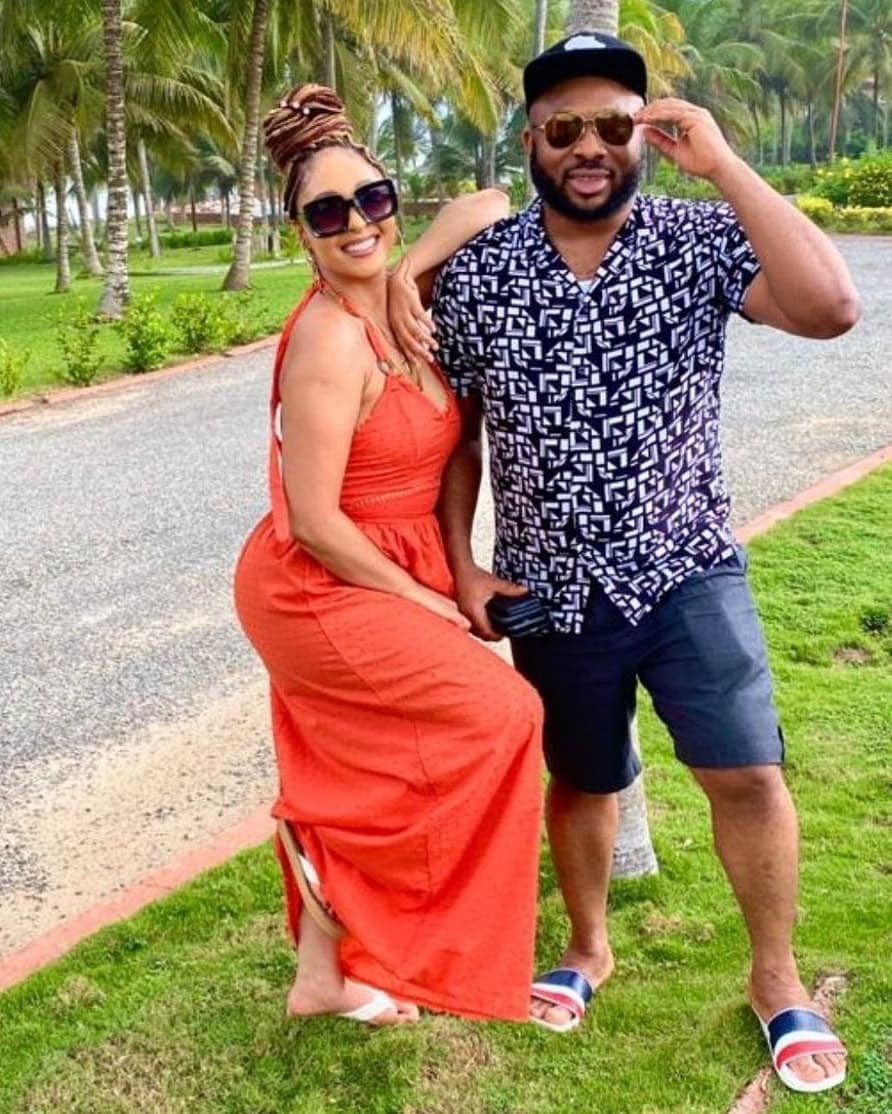 Churchill teases Tonto Dikeh as he shares lovely moments with his new lover, Rosy - Photos 4