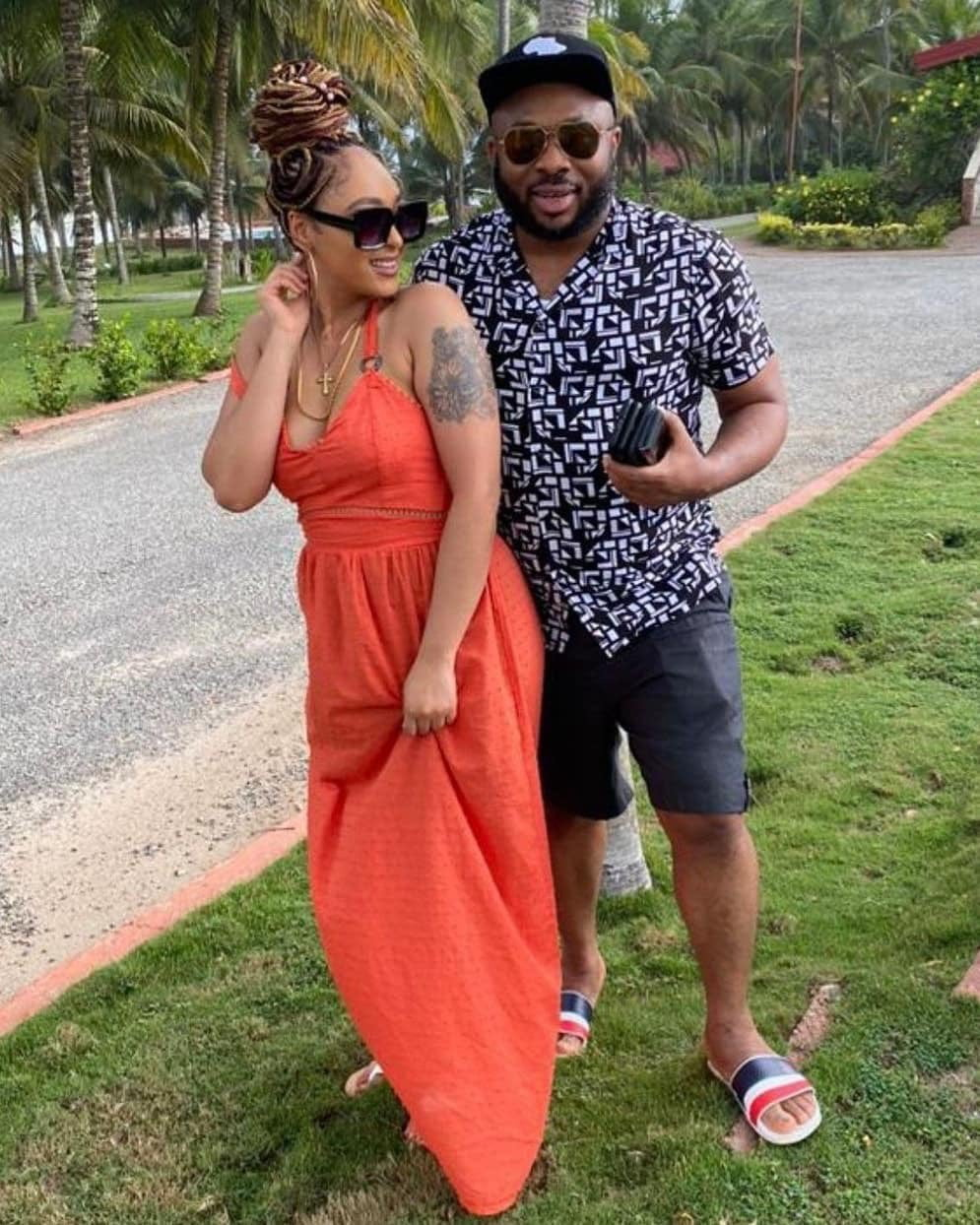 Churchill teases Tonto Dikeh as he shares lovely moments with his new lover, Rosy - Photos 3
