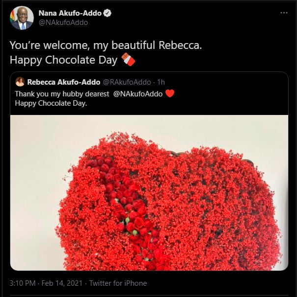 President Akufo-Addo gives the best gift to his wife, Rebecca on Val's Day - Photos 3