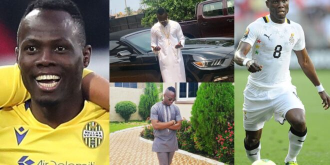 Ayemang Badu Flaunts His House And Fleet Of Cars in new photos to show how rich he is. 1
