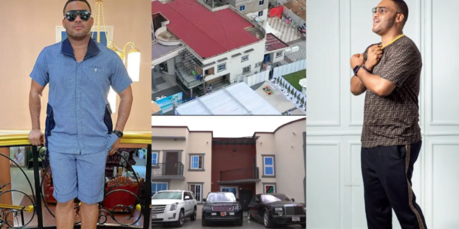 Video of all the luxury cars owned by Kwadwo Sarfo Junior surfaces online (video) 1