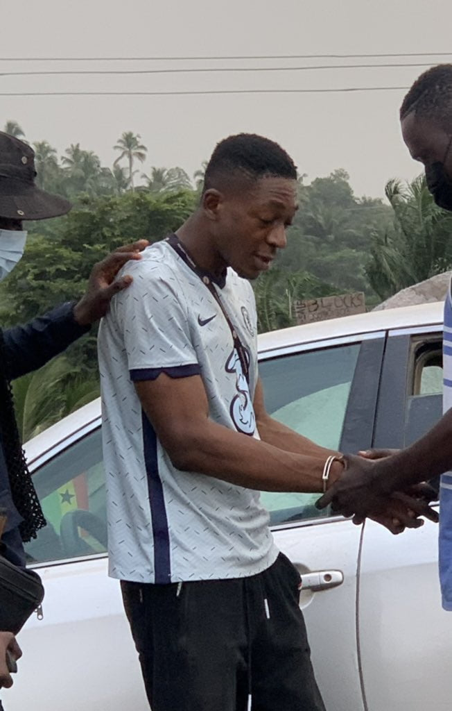 Young Ghanaian rapper who took Girlfriend's 10K finally arrested - Video + Photos 2