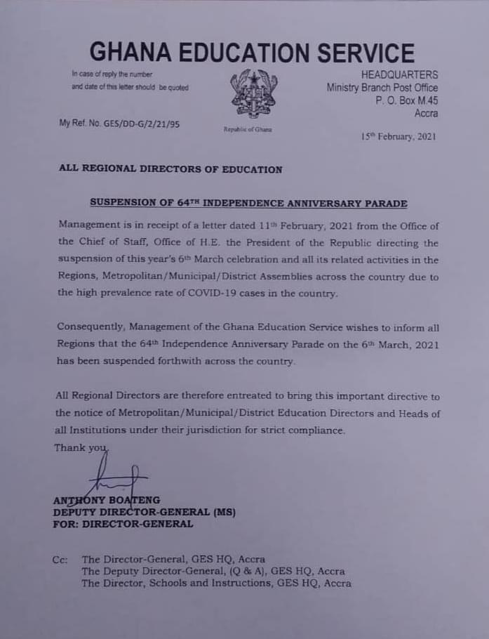 President Akufo-Addo suspends Independence Day celebrations - check out why 2