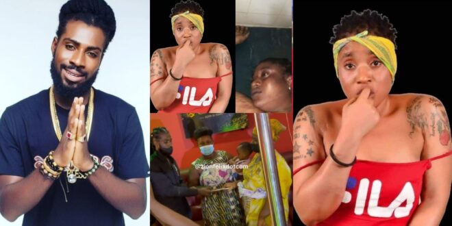 The musician whose $100 pledge made Ama Broni go nud3 and later died on stage, gives her orphan twins $1000. 1
