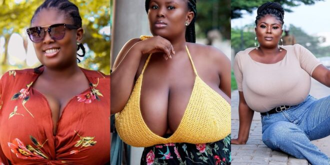 I've dated 150 guys, 4 wanted sɛx and the rest wanted my heavy b()obs - Queen Paticia (Video) 1