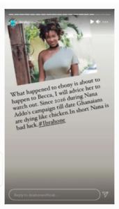 Becca will die like Ebony if she doesn't pray hard- Prophet claims 4