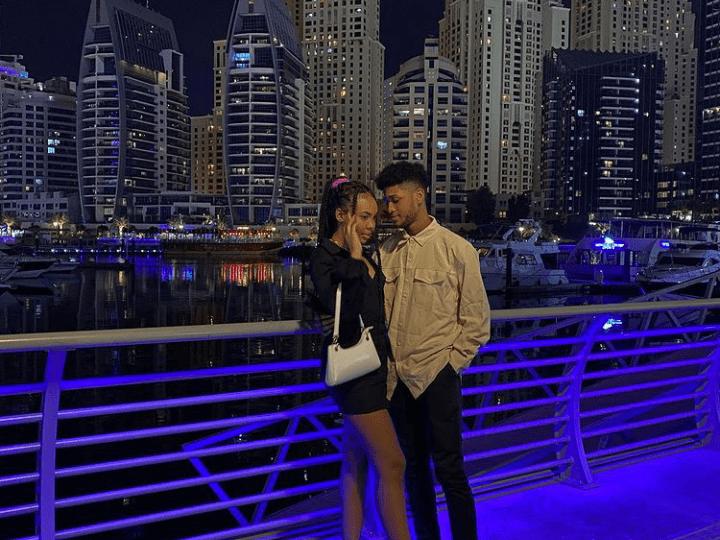 Video of Rahim Banda and girlfriend chopping love in Dubai surfaces 2