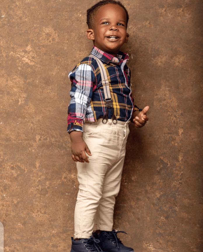 Stonebwoy celebrates 2nd birthday of his look-alike son - Photos 4