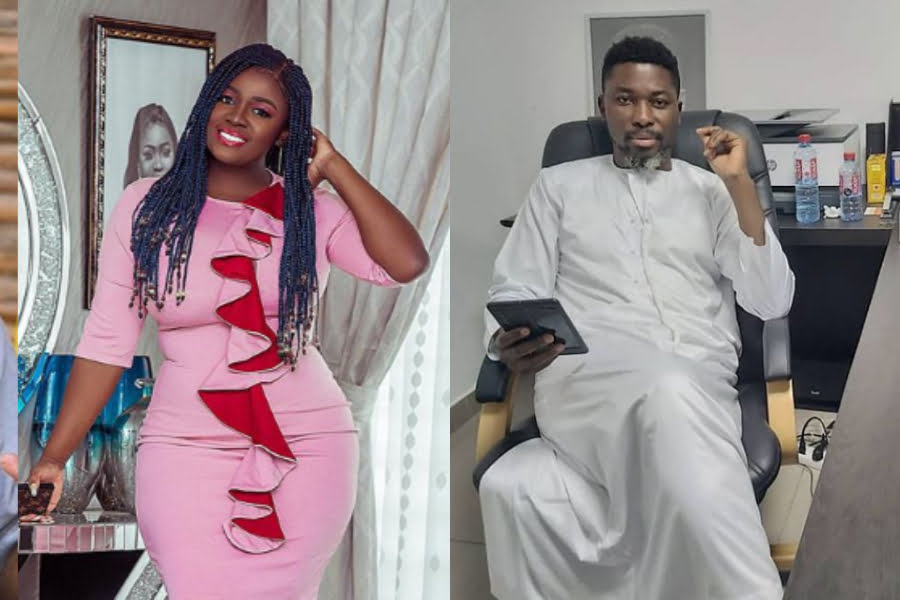 Tracey Boakye for the first time react to A Plus claims of marrying her - Video 2