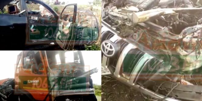 3 whites d!es in a gory Accident on the Kasoa winneba Highway (video) 1