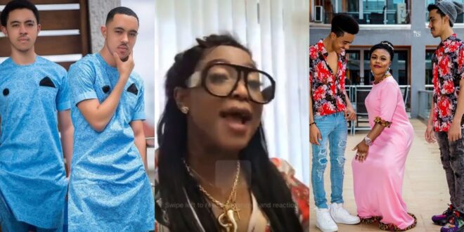 """""""The father of your twins died in Lebanon go for the bones and bury""""- Maame Ng3g3 descends of Afia Schwarzenegger (video) 1"""