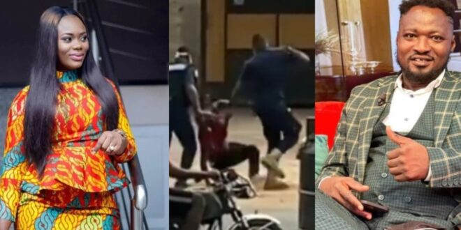 Why do some police and militaryofficers harass civilians and get away with it? – AkuaGMB condemns police beating funny face 1