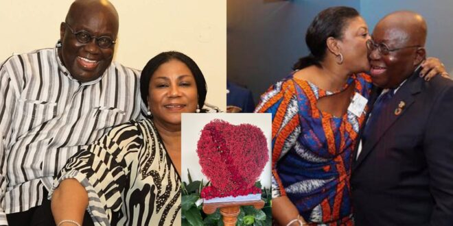 President Akufo-Addo gives the best gift to his wife, Rebecca on Val's Day - Photos 1