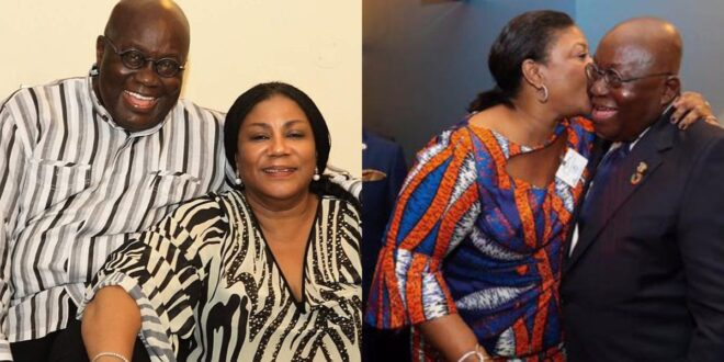 """""""Thank you my dear Husband""""- Mrs. Rebecca Akuffo Addo receive surprise from the President on Val's day. 1"""