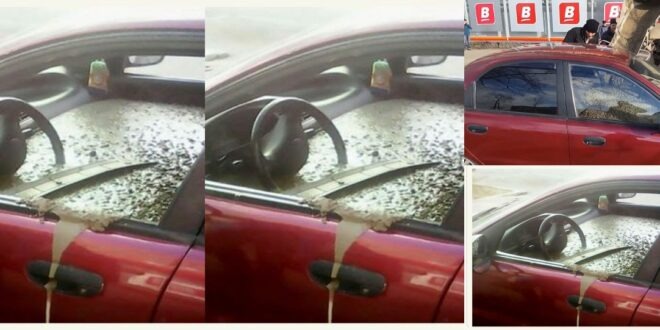 Angry husband fills wife's car with concrete for this reason - find out 1