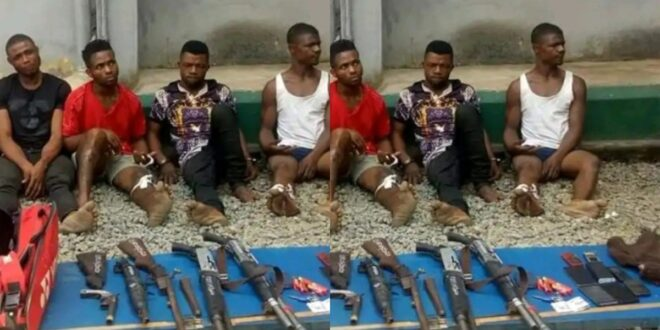Armed robbers who K!LLED a couplein frontof their kids caught [Photo] 1