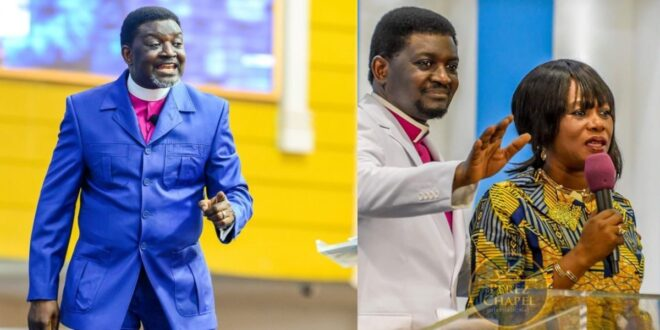 """""""If a man loves you, he will wait after marriage before sleeping with you""""- Bishop Agyinasare 1"""