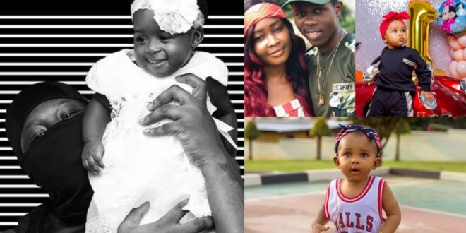 """Strongman's daughter is more prettier than yours""- Netizens tell Medikal 1"