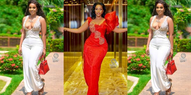 Benedicta Gafah shuts down social media with Impressive Val's day pictures. 1
