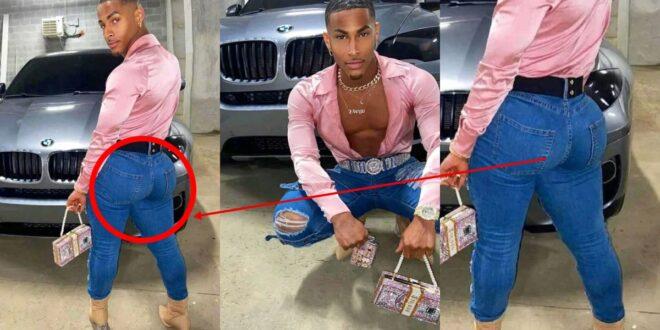 Meet Alhaji Bintu, the young man competing with hajia Bintu in the battle of a$$ 1