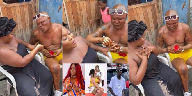 Bukom Banku propose marriage to patapaa's ex girlfriend queen peezy (video) 1