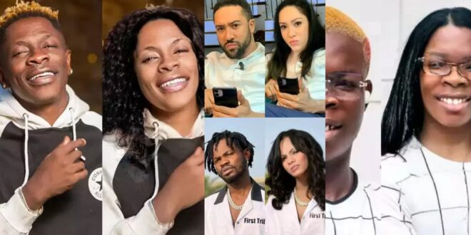 Funny Female Images of Some Popular Ghanaian Male Celebrities (photos) 1