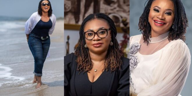 Charlotte Osei shares classy pictures on Instagram to celebrate her birthday. 1